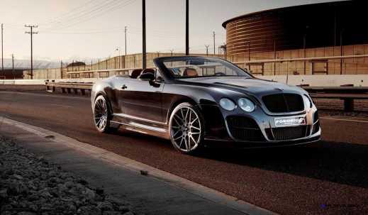 Prior Design Bentley Continental GT GTC Aerodynamics in gloss black_6841258441_o