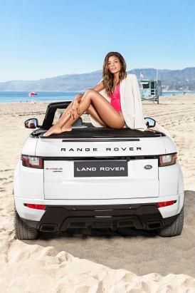 2016 RANGE ROVER Evoque Convertible LA Naomi Harris 3