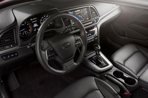 2017 Hyundai ELANTRA Sedan Interior 13
