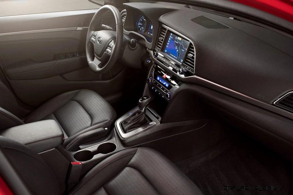 2017 Hyundai ELANTRA Sedan Interior 15