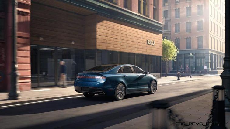 2017 Lincoln MKZ 8