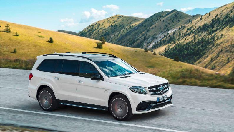 2017 Mercedes-Benz GLS 7