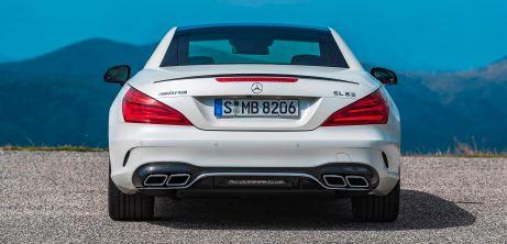 2017 Mercedes-Benz SL 21