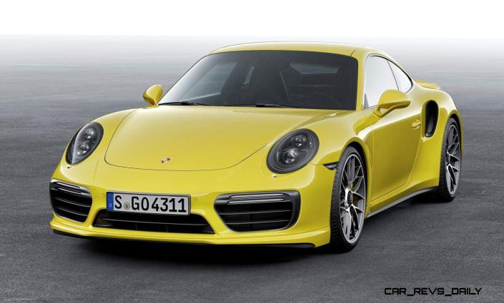 2017 Porsche 911 Turbo 21