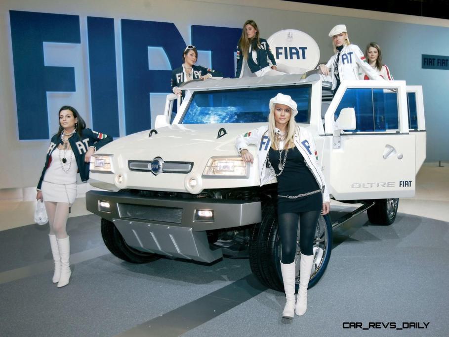 Concept Flashback - 2005 Fiat OLTRE 17