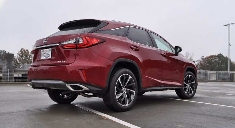 First Drive Review - 2016 Lexus RX350 FWD Luxury Package 33