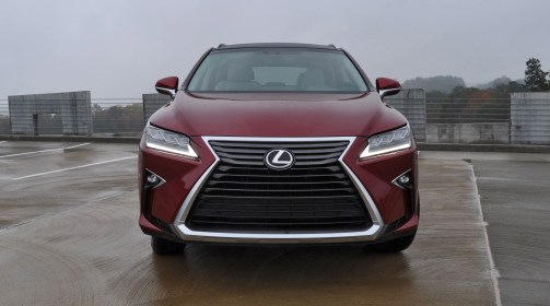 First Drive Review - 2016 Lexus RX350 FWD Luxury Package 48