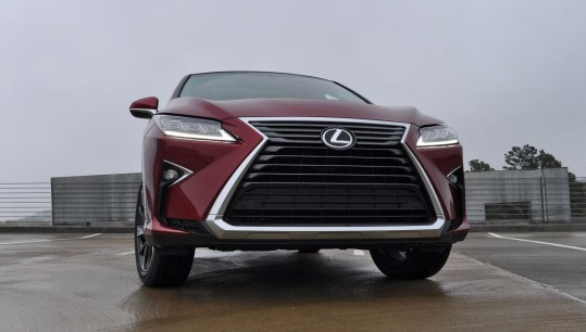 First Drive Review - 2016 Lexus RX350 FWD Luxury Package 50