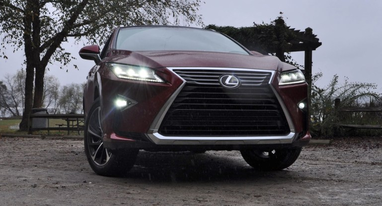First Drive Review - 2016 Lexus RX350 FWD Luxury Package 91