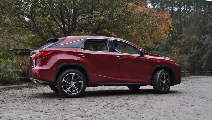 First Drive Review - 2016 Lexus RX350 FWD Luxury Package 98