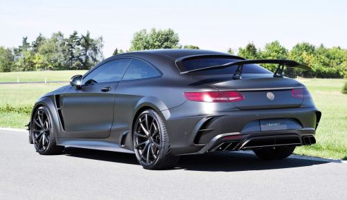 MANSORY S63 Black Edition Coupe 12