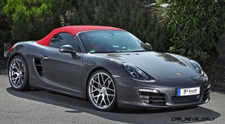 Porsche Boxster by SCHMIDT Revolution 9