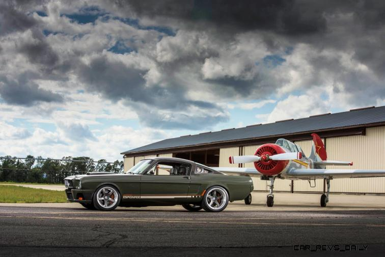 RingBrothers Carbon Fiber Mustang GT-R on HRE Wheels 21
