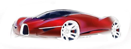 VAUGHAN LING - Bugatti Renderings 1
