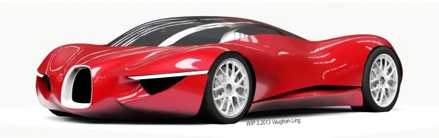 VAUGHAN LING - Bugatti Renderings 2