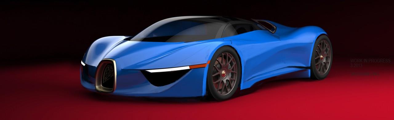 VAUGHAN LING - Bugatti Renderings 6