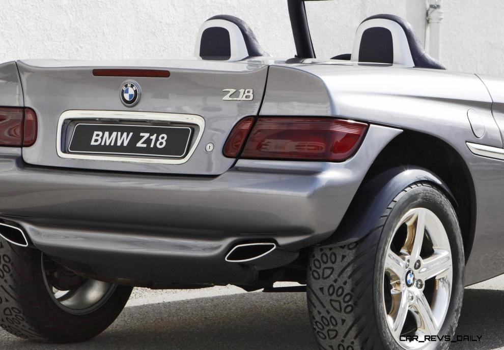 Concept vehicle BMW Z18 - BMW Technik GmbH 1995 (03/2010)