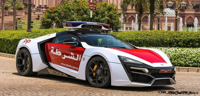 2015 W Motors LYKAN HyperSport Abu Dhabi 2