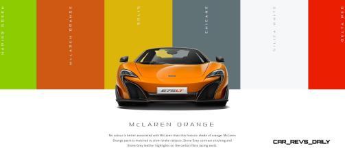2016 McLaren 675LT Spider - Configurator 2