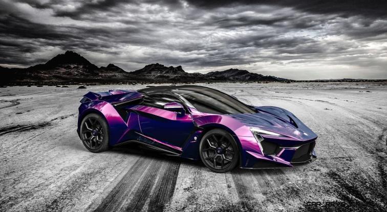 2016 W Motors FENYR SuperSport COLORS 60