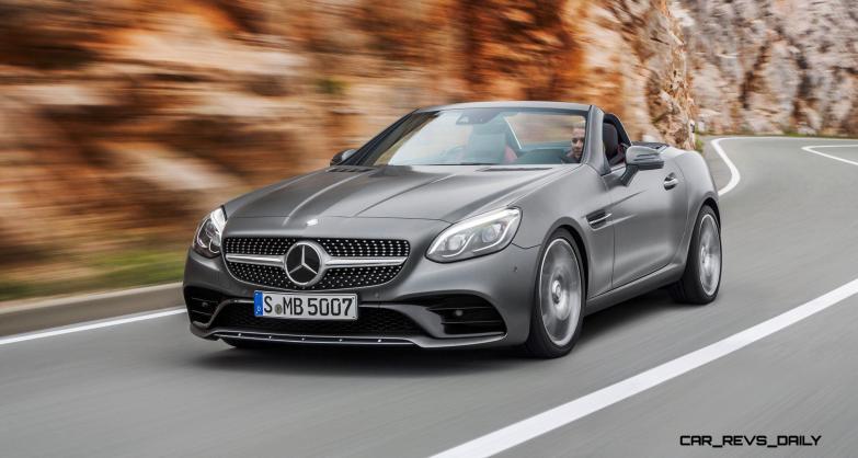 2017 Mercedes-Benz SLC 25