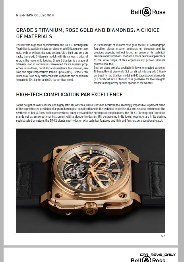 Bell & Ross BR-X1 Presspack Pages 5