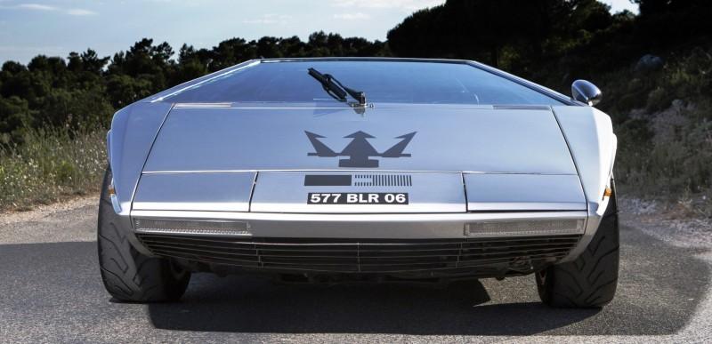 Concept Debrief - 1972 Maserati Boomerang by GIUGIARO 17