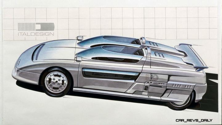 Concept Flashback - 1988 ITALDESIGN Aztec 23