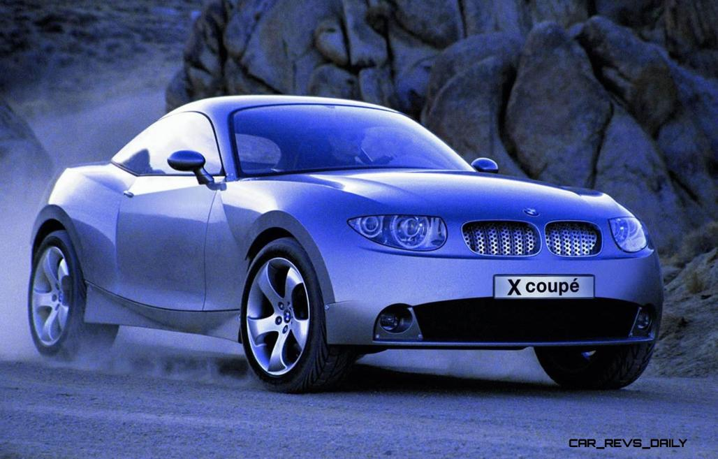 Concept Flashback - 2001 BMW X Coupe 2