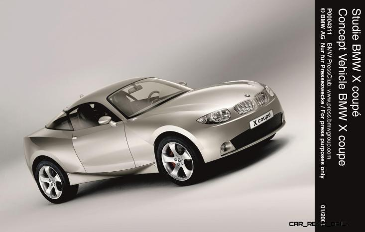 Concept Flashback - 2001 BMW X Coupe 8