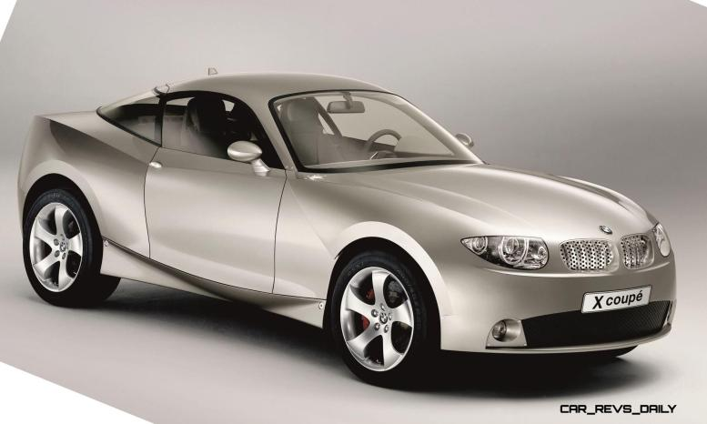 Concept Flashback - 2001 BMW X Coupe 9