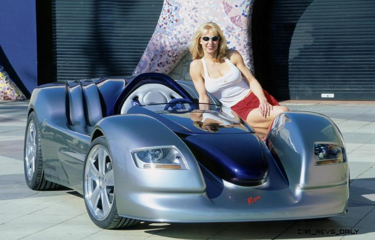Concept Flashback - 2001 RINSPEED Rone 2