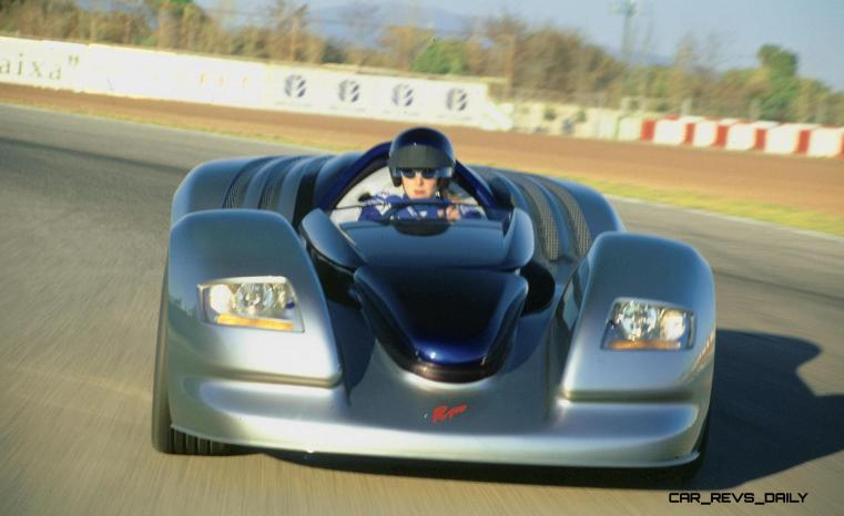 Concept Flashback - 2001 RINSPEED Rone 9