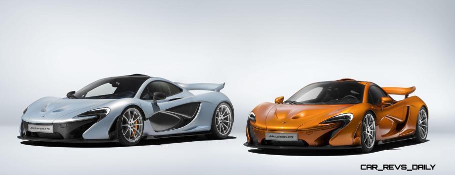 McLaren Wraps P1 Production 1
