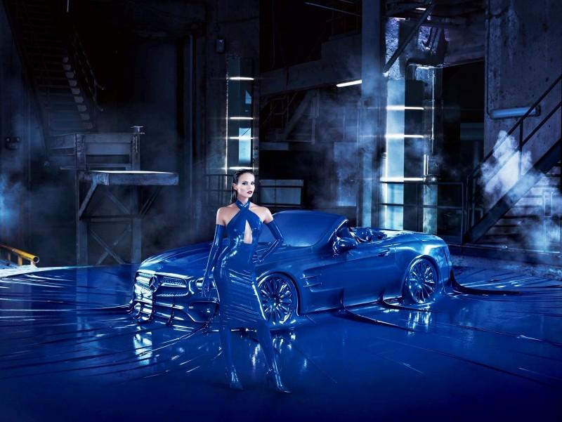 Mercedes Latex Fashion Shoot 12
