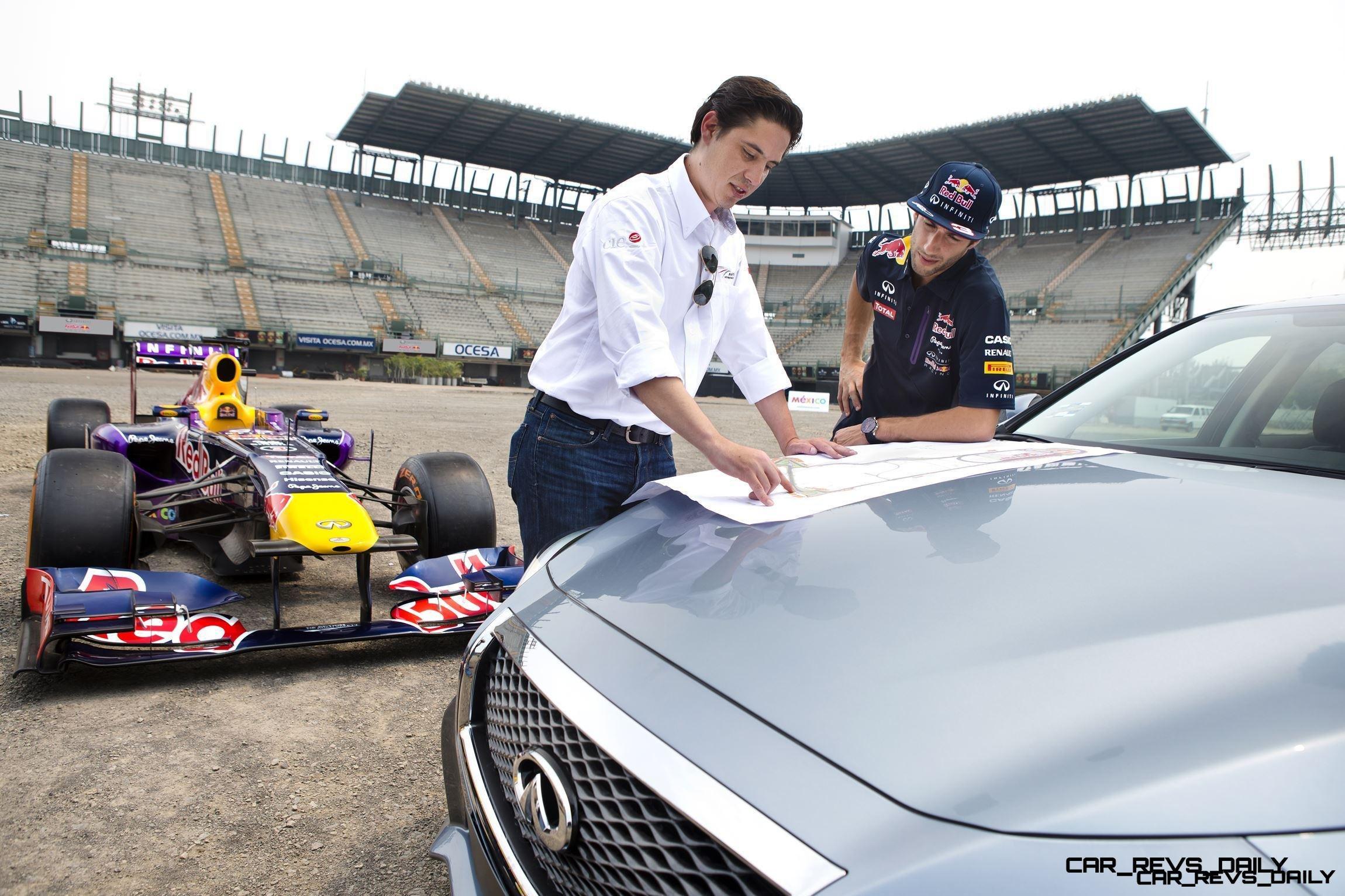 Daniel Ricciardo becomes first Formula One driver to sample new