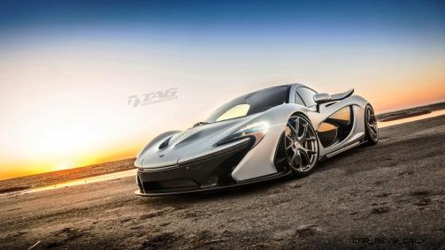 TAG Motorsports 2015 McLaren P1 HRE P101 Alloys 12