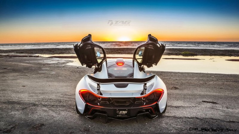 TAG Motorsports 2015 McLaren P1 HRE P101 Alloys 18