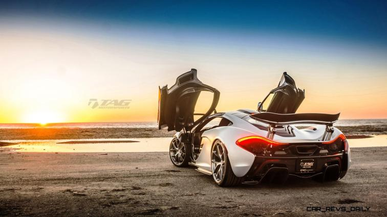 TAG Motorsports 2015 McLaren P1 HRE P101 Alloys 19