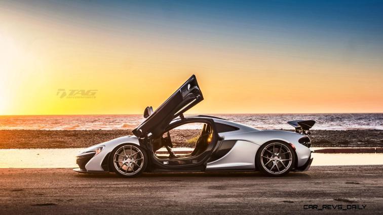 TAG Motorsports 2015 McLaren P1 HRE P101 Alloys 7