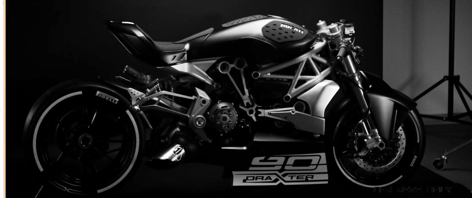 2016 DUCATI DraXter Concept Stills 21