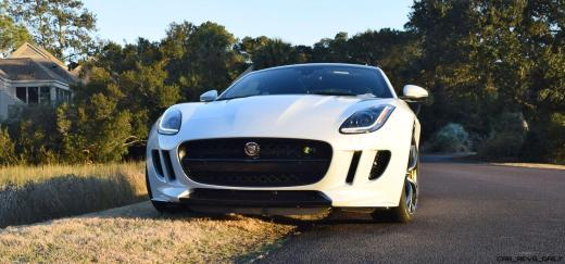2016 JAGUAR F-Type R AWD White with Black Pack 1