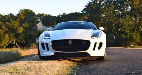 2016 JAGUAR F-Type R AWD White with Black Pack 12