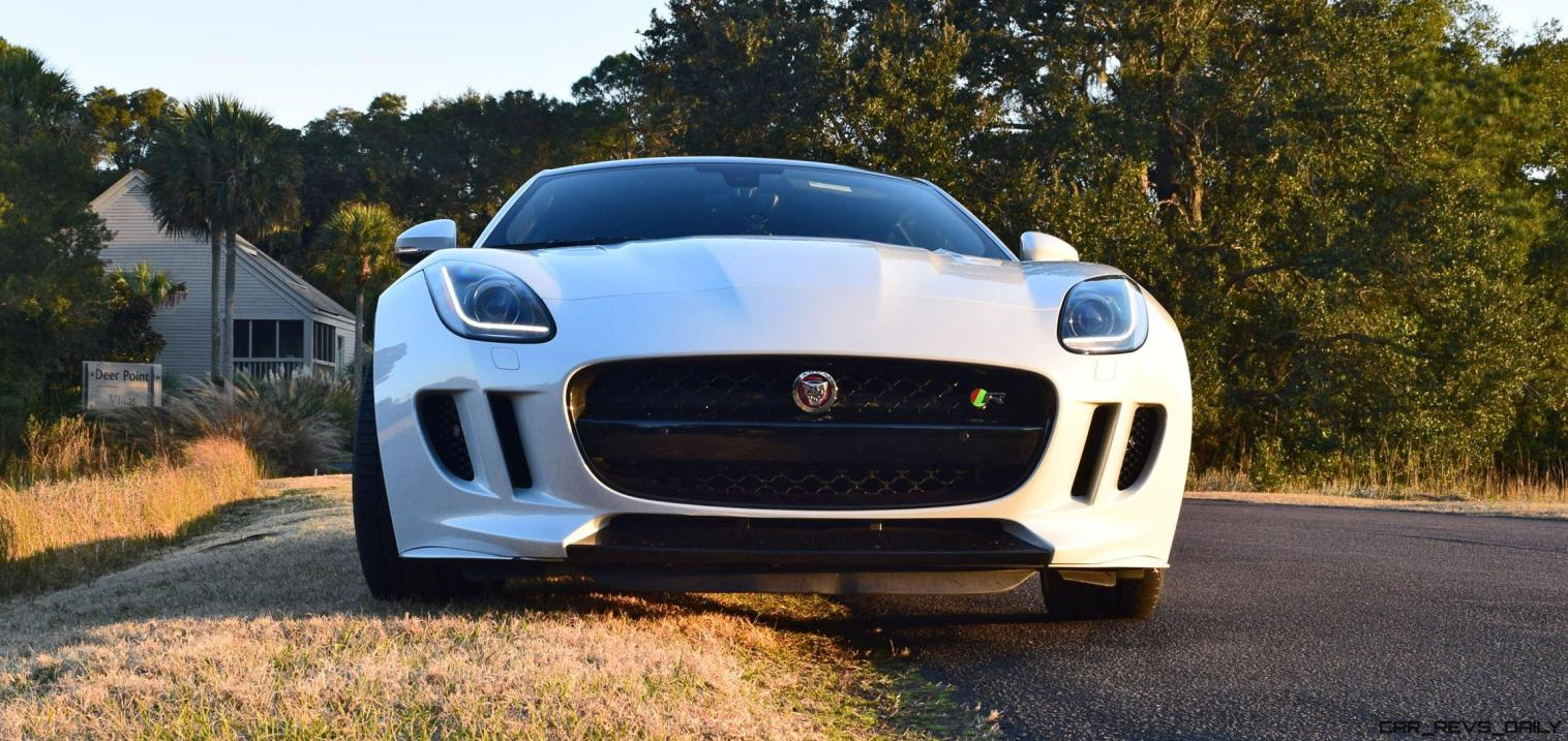 2016 JAGUAR F-Type R AWD White with Black Pack 13
