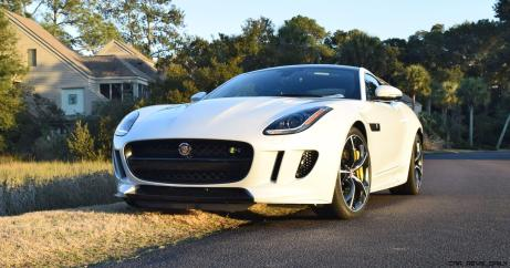 2016 JAGUAR F-Type R AWD White with Black Pack 2