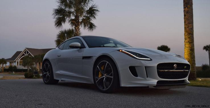 2016 JAGUAR F-Type R AWD White with Black Pack 24