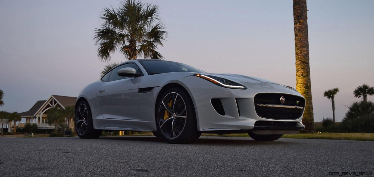 2016 JAGUAR F-Type R AWD White with Black Pack 25