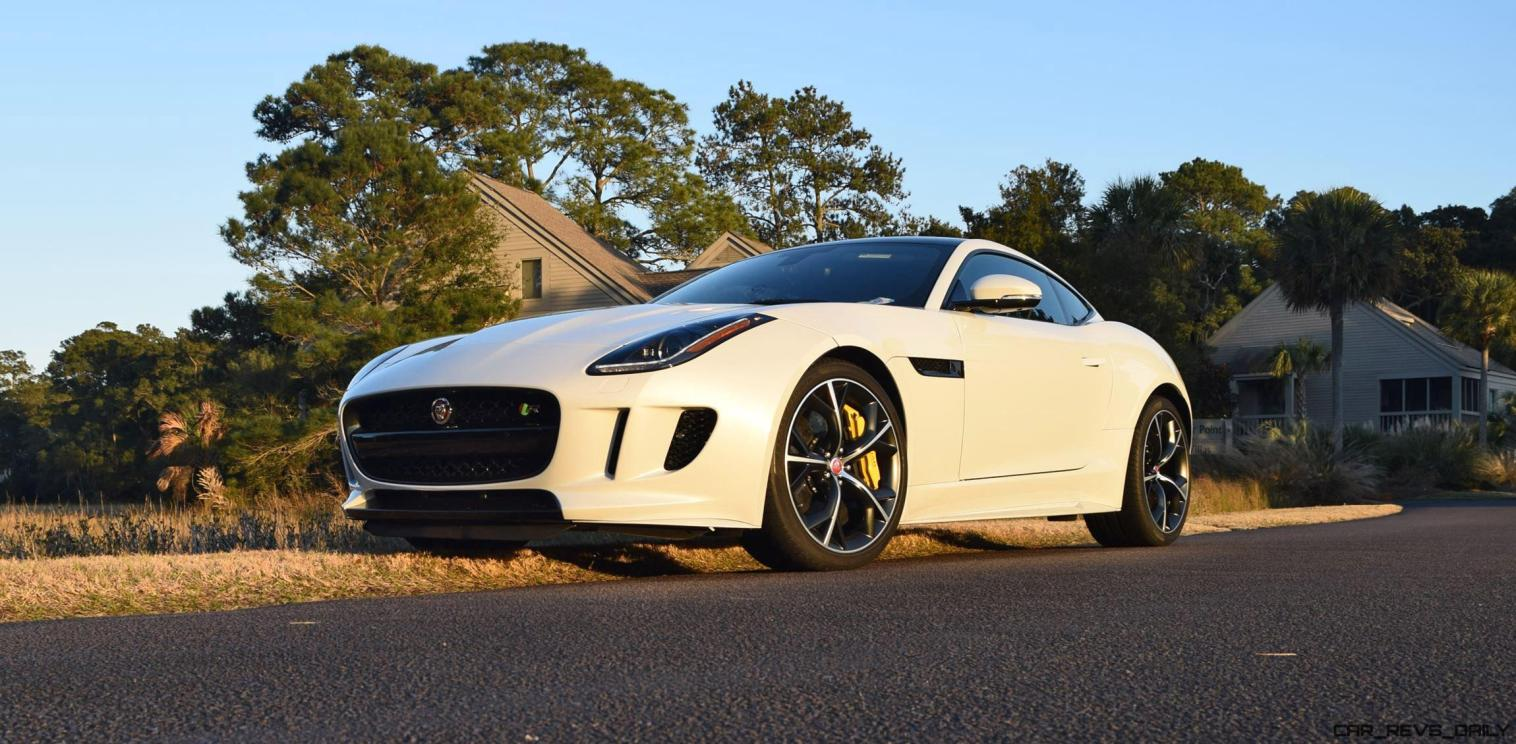 2016 JAGUAR F-Type R AWD White with Black Pack 4