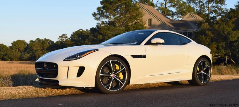 2016 JAGUAR F-Type R AWD White with Black Pack 5