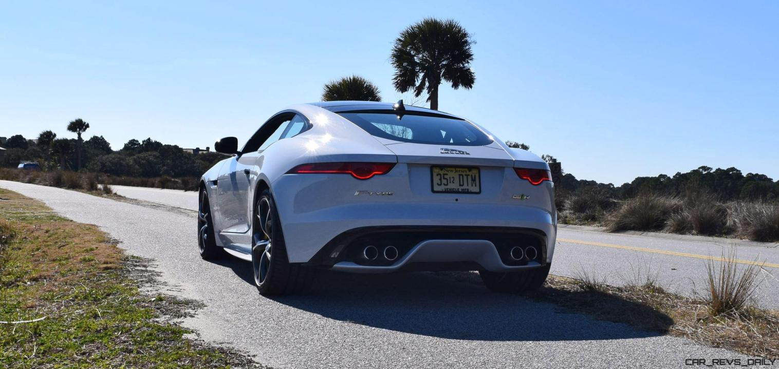 2016 JAGUAR F-Type R AWD White with Black Pack 51